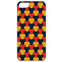 Red blue yellow shapes pattern       Apple iPhone 5 Classic Hardshell Case