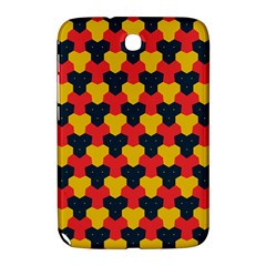 Red blue yellow shapes pattern       			Samsung Galaxy Note 8.0 N5100 Hardshell Case