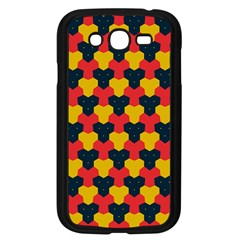 Red blue yellow shapes pattern       Samsung Galaxy Grand DUOS I9082 Case (Black)