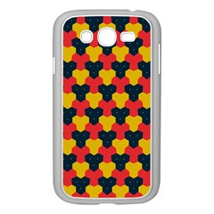 Red blue yellow shapes pattern       Samsung Galaxy Grand DUOS I9082 Case (White)