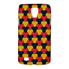 Red blue yellow shapes pattern       Samsung Galaxy S4 Active (I9295) Hardshell Case