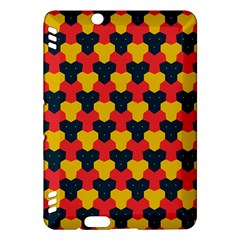Red blue yellow shapes pattern       Kindle Fire HDX Hardshell Case