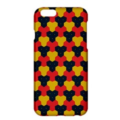 Red blue yellow shapes pattern       Apple iPhone 6 Plus/6S Plus Hardshell Case