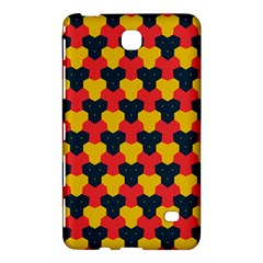 Red blue yellow shapes pattern       Samsung Galaxy Tab 4 (7 ) Hardshell Case