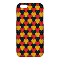 Red blue yellow shapes pattern       iPhone 6/6S TPU Case