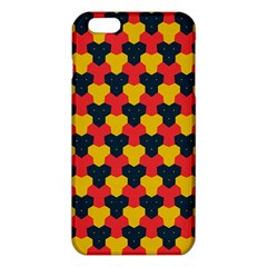 Red blue yellow shapes pattern       iPhone 6 Plus/6S Plus TPU Case