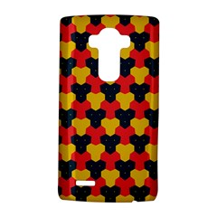 Red blue yellow shapes pattern       			LG G4 Hardshell Case