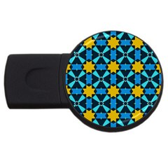 Stars pattern       			USB Flash Drive Round (1 GB)