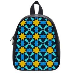 Stars pattern       School Bag (Small)