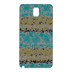 Blue brown waves      Samsung Galaxy Note 3 N9005 Hardshell Back Case