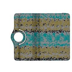 Blue brown waves      Kindle Fire HDX 8.9  Flip 360 Case