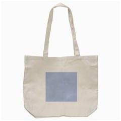 Solid Alice Blue in an English Country Garden Wedding Tote Bag (Cream)
