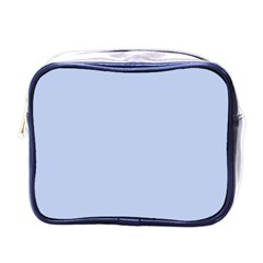 Solid Alice Blue in an English Country Garden Wedding Mini Toiletries Bags