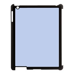 Solid Alice Blue in an English Country Garden Wedding Apple iPad 3/4 Case (Black)