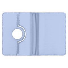 Solid Alice Blue in an English Country Garden Wedding Kindle Fire HDX Flip 360 Case