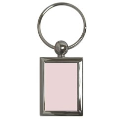 Solid Alice Pink in an English Country Garden Key Chains (Rectangle)