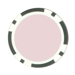 Solid Alice Pink in an English Country Garden Poker Chip Card Guard