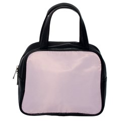 Solid Alice Pink in an English Country Garden Classic Handbags (One Side)