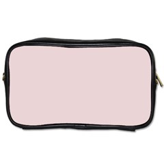 Solid Alice Pink in an English Country Garden Toiletries Bags 2-Side