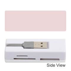 Solid Alice Pink in an English Country Garden Memory Card Reader (Stick)