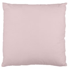 Solid Alice Pink in an English Country Garden Large Cushion Case (One Side)