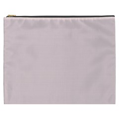 Solid Alice Pink in an English Country Garden Cosmetic Bag (XXXL)