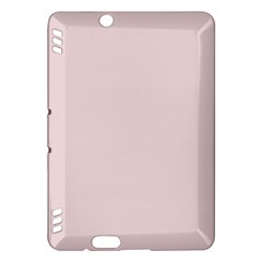 Solid Alice Pink in an English Country Garden Kindle Fire HDX Hardshell Case