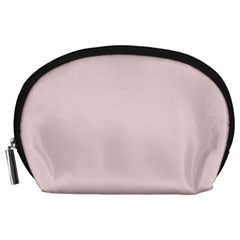 Solid Alice Pink in an English Country Garden Accessory Pouches (Large)