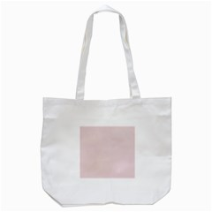 Solid Alice Pink in an English Country Garden Tote Bag (White)