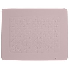 Solid Alice Pink in an English Country Garden Jigsaw Puzzle Photo Stand (Rectangular)