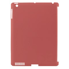 Camellia Pink in an English Country Garden Apple iPad 3/4 Hardshell Case (Compatible with Smart Cover)
