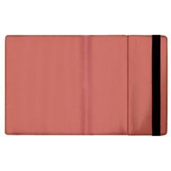 Camellia Pink in an English Country Garden Apple iPad 3/4 Flip Case