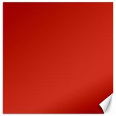 Dahlia Red in an English Country Garden Canvas 12  x 12