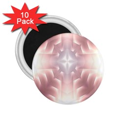 Neonite Abstract Pattern Neon Glow Background 2 25  Magnets (10 Pack)