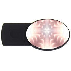Neonite Abstract Pattern Neon Glow Background Usb Flash Drive Oval (2 Gb)