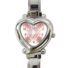 Neonite Abstract Pattern Neon Glow Background Heart Italian Charm Watch