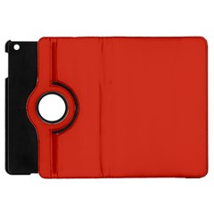 Dahlia Red in an English Country Garden Apple iPad Mini Flip 360 Case