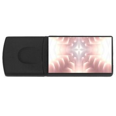 Neonite Abstract Pattern Neon Glow Background Usb Flash Drive Rectangular (4 Gb)