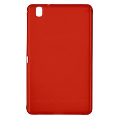 Dahlia Red in an English Country Garden Samsung Galaxy Tab Pro 8.4 Hardshell Case