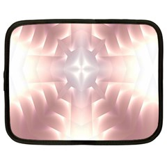 Neonite Abstract Pattern Neon Glow Background Netbook Case (large)