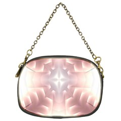 Neonite Abstract Pattern Neon Glow Background Chain Purses (Two Sides)