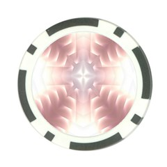 Neonite Abstract Pattern Neon Glow Background Poker Chip Card Guard (10 pack)