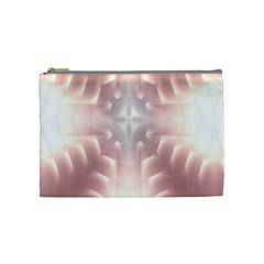 Neonite Abstract Pattern Neon Glow Background Cosmetic Bag (Medium)