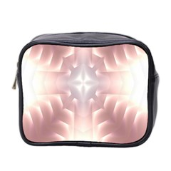 Neonite Abstract Pattern Neon Glow Background Mini Toiletries Bag 2 Side