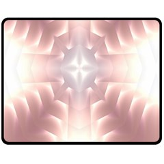 Neonite Abstract Pattern Neon Glow Background Fleece Blanket (Medium)