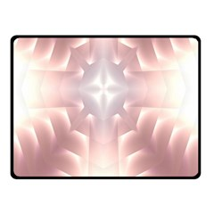 Neonite Abstract Pattern Neon Glow Background Fleece Blanket (small)