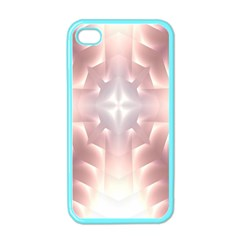 Neonite Abstract Pattern Neon Glow Background Apple iPhone 4 Case (Color)