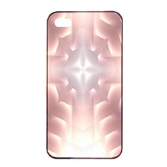 Neonite Abstract Pattern Neon Glow Background Apple iPhone 4/4s Seamless Case (Black)