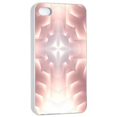 Neonite Abstract Pattern Neon Glow Background Apple iPhone 4/4s Seamless Case (White)
