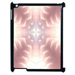 Neonite Abstract Pattern Neon Glow Background Apple iPad 2 Case (Black)